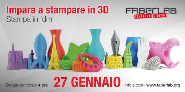 Faberlab corso stampa 3D