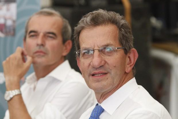 Davide Galli con Federico Visconti