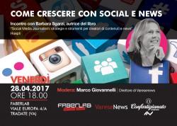 Far crescere l'azienda (e non solo) con i social: incontro con Barbara Sgarzi @ Faberlab | Tradate | Lombardia | Italia