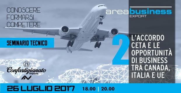Seminario Export: l'Accordo CETA e le opportunità di business in Canada @ Confartigianato Imprese Varese  | Varese | Lombardia | Italia