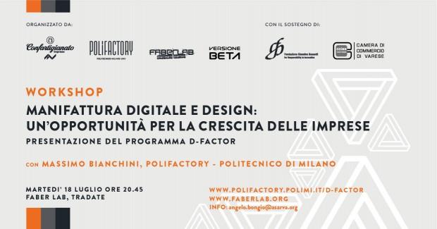D-Factor: innovazione e manifattura digitale