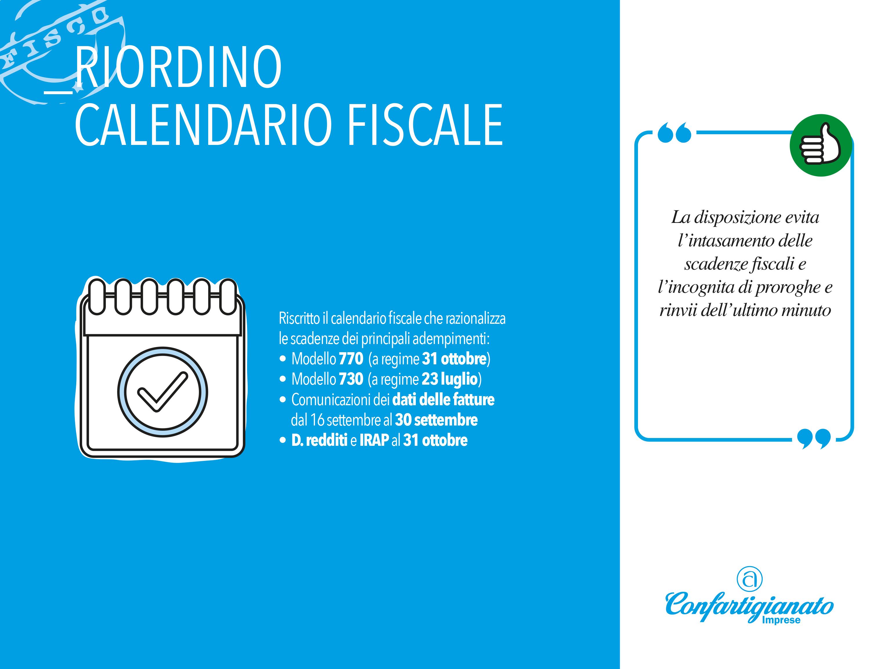 Calendario Fiscale.L Iri Scivola Al 2017 Ma Il Fisco Mette Ordine A Calendario
