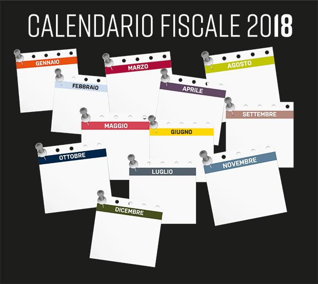 Calendario Fiscale.Fisco 2018 Tutte Le Scadenze Dell Anno E Le Date Da Non