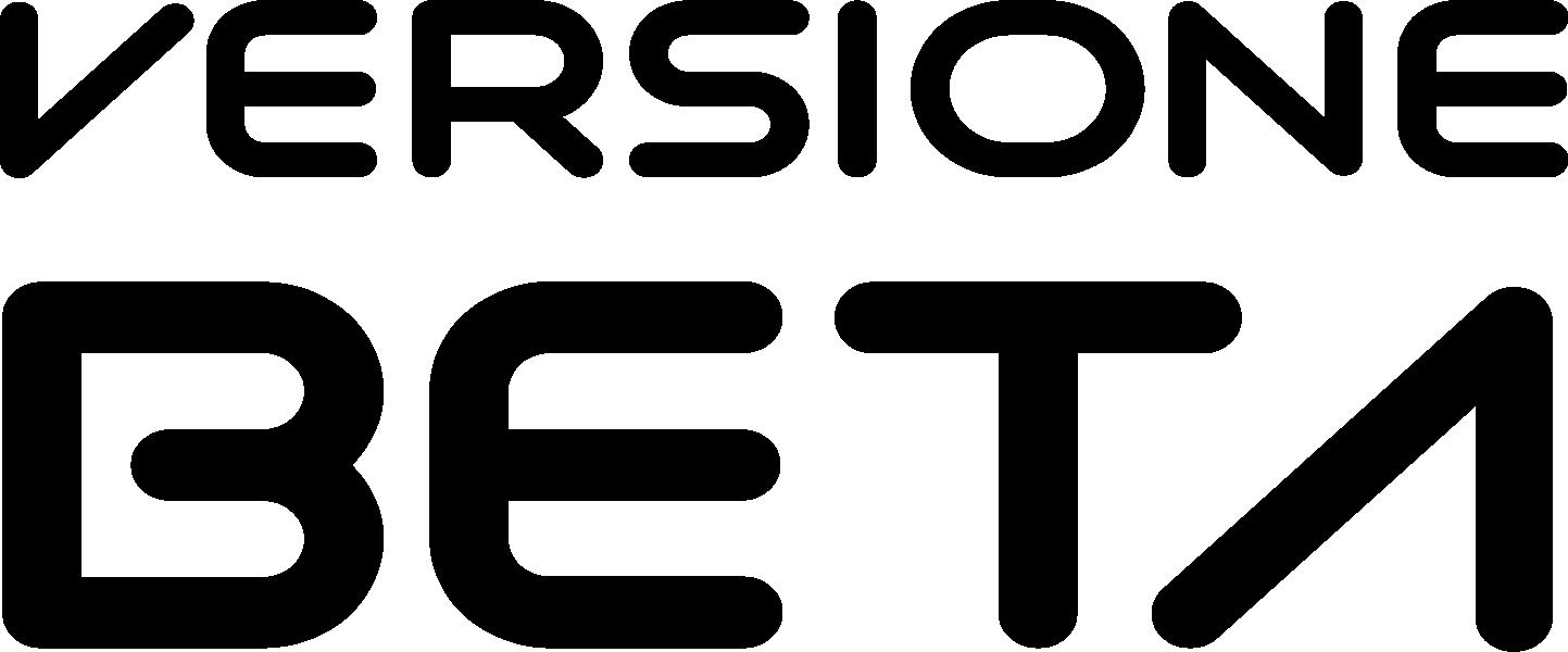 logo_versionebeta_nero