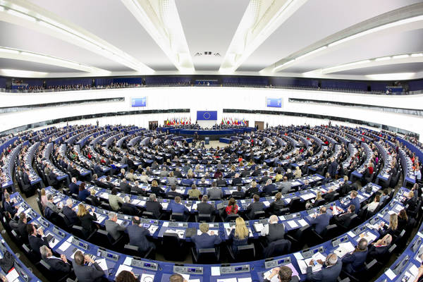 Plenary session Week 3 2017 in StrasbourgElection of the President of the European Parliament
