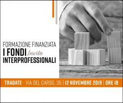 FORMAZIONE FINANZIATA - I FONDI INTERPROFESSIONALI @ Sede Confartigianato Tradate