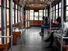 Foto Claudio Furlan - LaPresse  26 Febbraio 2020 Milano (Italia)  News Milano durante l emergenza coronavirus Nella foto: mascherine in tram