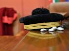Il cappello da magistrato posato su uno scranno durante l'inaugurazione dell'anno giudiziario, Genova, 25 gennaio 2014. ANSA/LUCA ZENNARO